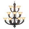 <strong>Livex Lighting</strong> Florence 15 Light Chandelier