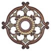 Livex Lighting Ceiling Medallion in Palacial Bronze with Gilded Accents
