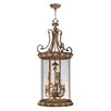 <strong>Savannah 9 Light Foyer Pendant</strong> by Livex Lighting