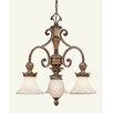 Livex Lighting Savannah 4 Light Chandelier