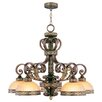 <strong>Seville 5 Light Chandelier</strong> by Livex Lighting