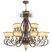 <strong>Livex Lighting</strong> Villa Verona 16 Light Chandelier