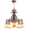 <strong>Livex Lighting</strong> Villa Verona 6 Light Chandelier