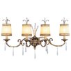 <strong>Livex Lighting</strong> La Bella 4 Light Vanity Light