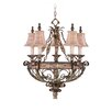 <strong>Livex Lighting</strong> Pamplona 5 Light Chandelier
