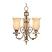 <strong>Livex Lighting</strong> Bristol Manor 3 Light Convertible Mini Chandelier