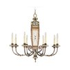 <strong>Livex Lighting</strong> Bristol Manor 8 Light Chandelier
