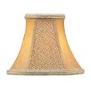"""<strong>Livex Lighting</strong> 6"""" Suede Bell Clip Chandelier Shade"""