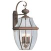 <strong>Livex Lighting</strong> Monterey 4 Light Outdoor Wall Lantern