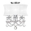 <strong>Livex Lighting</strong> Newcastle Convertible Drum Pendant