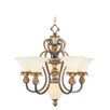 <strong>Livex Lighting</strong> Savannah 6 Light Chandelier