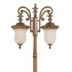 <strong>Livex Lighting</strong> Savannah 2 Light Outdoor Post Lantern