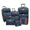 Traveler's Choice Amsterdam II 8 Piece Luggage Set