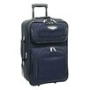 "Traveler's Choice Amsterdam 21"" Expandable Rolling Carry On I"