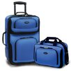 Rio 2 Piece Carry On Luggage Set