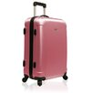 "<strong>Traveler's Choice</strong> Freedom Lightweight Hard-shell 25"" Spinner Suitcase in Pink"