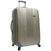 "Traveler's Choice Toronto 21"" Expandable Hardsided Spinner Suitcase"