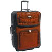 "<strong>Traveler's Choice</strong> Amsterdam 29"" Expandable Rolling Upright in Orange"