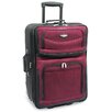 "Traveler's Choice Amsterdam 29"" Expandable Rolling Upright in Burgundy"
