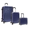 Traveler's Choice Glacier 3 Piece Luggage Set