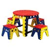 <strong>Martin Universal Design</strong> Legacy Kids 5 Piece Table and Chair Set