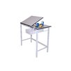 <strong>Manchester Melamine Drafting Table</strong> by Martin Universal Design