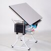 <strong>Martin Universal Design</strong> Ashley Creative Laminate Drafting Table with Stool