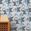 Aimee Wilder Designs Panda Wallpaper Sample