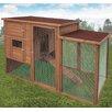 Ware Manufacturing Premium+Chicken Coop with Ramp