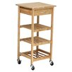 <strong>Oceanstar Design</strong> Bamboo Kitchen Cart