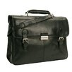<strong>Tony Perotti</strong> Green Classic European Leather Briefcase