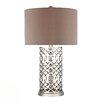 "Dimond Lighting HGTV Home 30"" H Polished Nickel Table Lamp"
