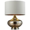 "<strong>HGTV Home 26"" H Glass and Steel Table Lamp</strong> by Dimond Lighting"