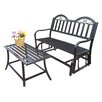 Oakland Living Rochester 2 Piece Bench Seating Group Set