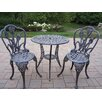 <strong>Tulip 3 Piece Bistro Set</strong> by Oakland Living