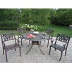 <strong>Capitol Tulip 5 Piece Dining Set</strong> by Oakland Living