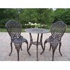 <strong>Mississippi 3 Piece Bistro Set</strong> by Oakland Living