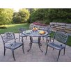 Mississippi Hummingbird 5 Piece Dining Set