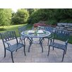 <strong>Oakland Living</strong> Mississippi Tulip 5 Piece Dining Set