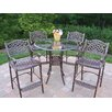 <strong>Oakland Living</strong> Hummingbird Mississippi Bar Height Dining Set