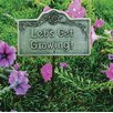 <strong>Oakland Living</strong> Lets Get Growing Garden Sign