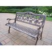 <strong>English Rose Aluminum Garden Bench</strong> by Oakland Living