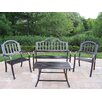 <strong>Oakland Living</strong> Rochester 4 Piece Lounge Seating Group Set