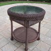 <strong>Resin Wicker Side Table</strong> by Oakland Living