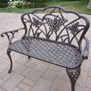<strong>Butterfly Aluminum Garden Bench</strong> by Oakland Living