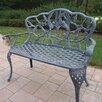 <strong>Oakland Living</strong> Hummingbird Aluminum Garden Bench