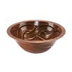 <strong>Premier Copper Products</strong> Round Braided Undermount Bathroom Sink