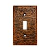 <strong>Premier Copper Products</strong> Copper Switchplate Single Toggle Switch Cover in Oil Rubbed Bronze