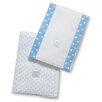 <strong>Swaddle Designs</strong> Baby Burpies® in Bright Polka Dots (Set of 2)