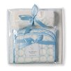 <strong>Swaddle Designs</strong> 3 Piece Gift Set in Organic Pastel Mod Circles on Ivory